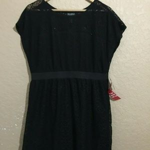 SOHO Apparel Ltd Black Sleeveless Dress Sz 14 NWT